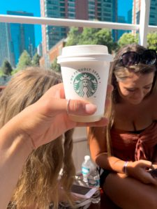 photo of starbucks cup